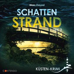 CD Cover Küstenkrimi Schattenstrand 2