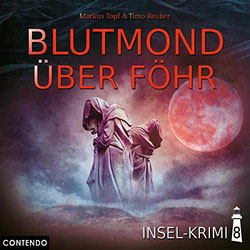 CD Cover Blutmond über Föhr