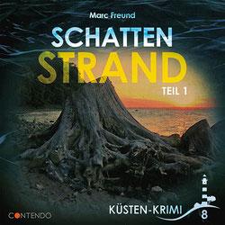 CD Cover Küstenkrimi Schattenstrand 1
