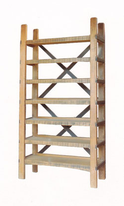 Shelves made from two old ladders