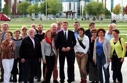 Engagierte KiQ-Bürger in Berlin bei Patrick Sensburg
