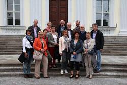 """KiQ-Gruppe am Sitz des Bundespräsidenten dem """"Schloss Bellevue"""""""
