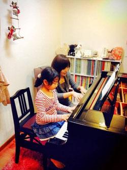 ちあき音楽教室久留米教室レッスン風景