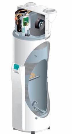 Wärmepumpenboiler Heatmaster Explorer von Solar hoch 2