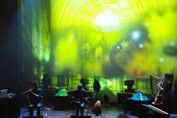 musique du monde harpe alicia ducout Florian Baron Kenan Guernalec Marc Blanchard