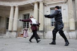 escrime artistique renaissance harpe combat Blois