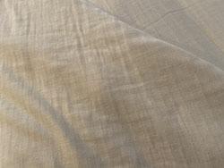 肌さわりの良いトリプルガーゼのシーツ