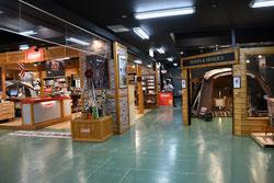 これぞ、北海道最大級規模のコールマンコーナー!