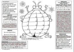 Coloriage LudoLogique - Le scarabée
