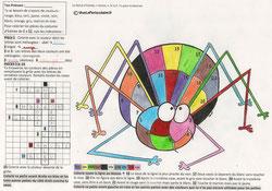 Coloriage Ludologique Edmée Cor