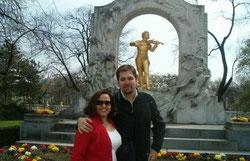 Memorial ao J. Strauss no parque