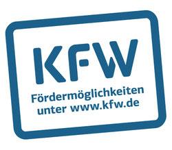 Informieren Sie sich über die Fördermöglichkeiten der KfW.
