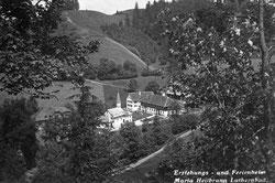 Luthern Bad, Sicht auf Erziehungsheim des Seraphischen Liebeswerkes Solothurn  (LB 15a)