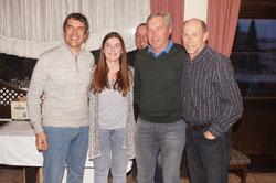 Sieger AK: Klotz Wolfi und Gabi, Sparr Nobi und Artur