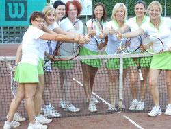 Das Meisterteam der Damen 35