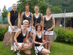 Das Meisterteam der Damen allgem.