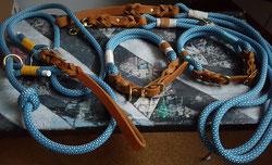 Set Halsband und Leine Welpenhalsband & Retrieverleine
