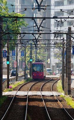 早稲田方面へ都電と一緒に歩こう!