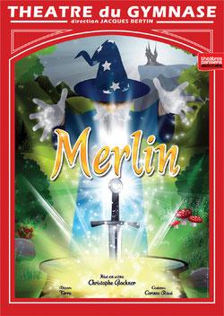 Merlin au théatre du gymnase en décembre 2015