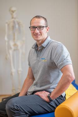 Physiotherapeut Matthias Graf