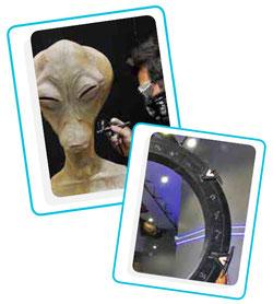 Exposition science fiction Kevin Barillet - La BD est dans le pre