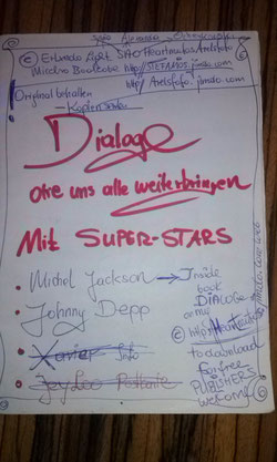 LESEN SIE MEIEN DIALOGE MIT SUPERSTARS AUF DEM LINK HIER UND AUCH AUF MEINER http://stefanios.jimdo.com hauptwebseite yeeee