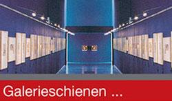 Galerieschienen Wien bei Pass'Partot Bilderrahmen