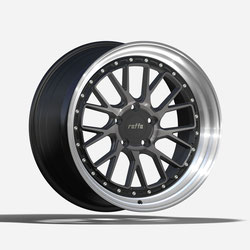 RAFFA WHEELS RS-03 DARK MIST POLISHED