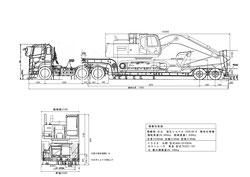 積載状態図(CADで作成)