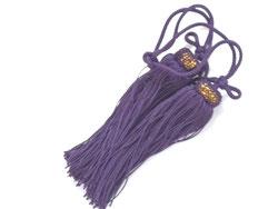 九谷焼 風鎮用 房 古代紫
