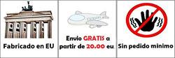 Fabricando en EU, Envio gratis a partir de 20.00 euros, Sin pedido minimo