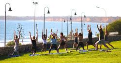 open yoga classes Conil