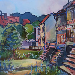 Galambos Rita: come home, Künstlerin, Acrylgemälde, Acrylmalerei, bildende Künstlerin, Malerin, Designerin, Illustratorin, Grafikdesignerin, hungarian Painter, contemporary artist, modern painting, Feldkirch, Vorarlberg , Austria