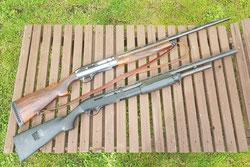 Die übliche Lauflänge liegt bei Jagdflinten zwischen 68 und 76 Zentimeter.