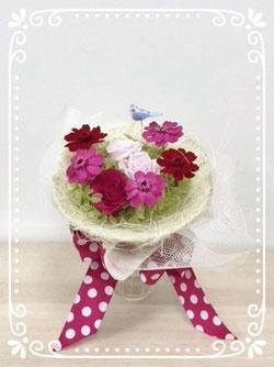 プリザの花束