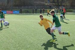 D1-Jugend im Spiel gegen SpVgg. Schonnebeck.