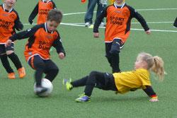 Bambini 1 im Spiel gegen Ballfreunde Bergeborbeck.