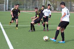 TuS B2-Jugend im Spiel gegen ESC Preußen 2.