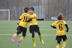 TuS E2-Jugend gegen Stoppenberg.