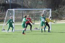D1-Jugend beim Spiel in Karnap.