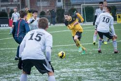 TuS B1-Jugend gegen VfL Rhede.