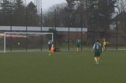 Das 2:0 und 4:0 für die B1-Jugend im Auswärtsspiel ...