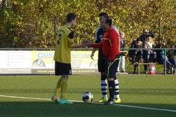 B1-Jugend beim Halbfinalspiel in Vogelheim.