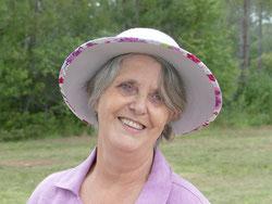chapeau femme noir et blanc