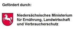 Logoi Gefördert durch Niedersächsisches Ministerium für Ernährung, Landwirtschaft und Verbraucherschutz