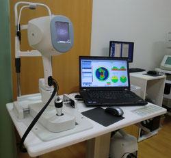 尼崎 眼科 緑内障 日帰り白内障手術 OCT 光干渉断層計