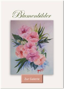 Gemalte Blumenbilder