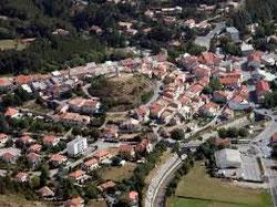 le village d'aspres sur buech hautes-alpes