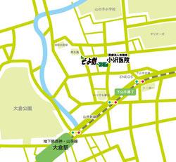 小沢医院 地図