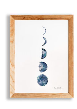 Aquarell – Moon
